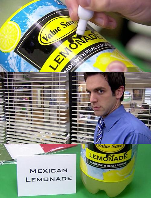 Mexican Lemoñadé  Follow me! http://idrinkmonster.tumblr.com/