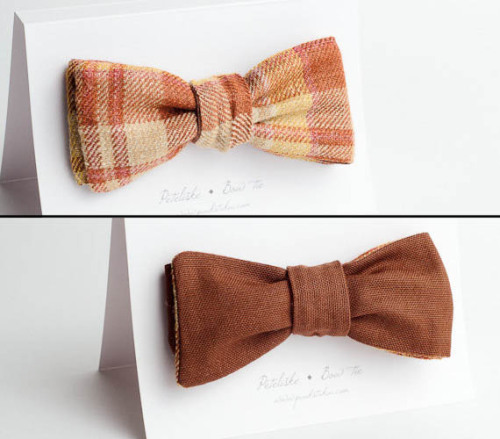 Paukstukai Doublesided Bow Ties.. $22