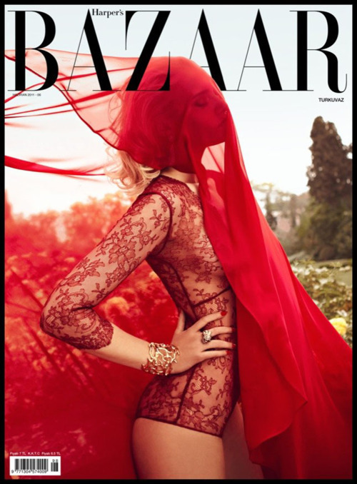 they.call.it.fashion - covers nadia serlidou . harpers bazaar turkey . june 2011