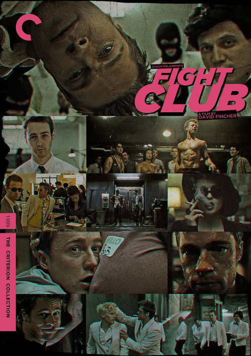 "Criterion Cover for David Fincher's ""Fight Club"""