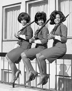 The Supremes in 1963