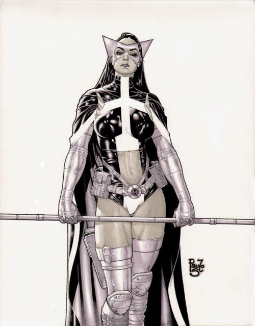 Huntress by Paulo Siqueira