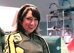"Elizabeth ""Z"" Delgado - The Yellow Space  Patrol Delta B Squad Power Ranger"