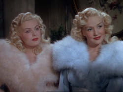 ladylikelady:  The Dolly Sisters (1945) Betty Grable and June Haver