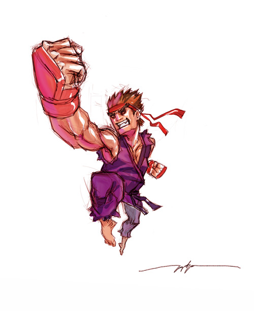 scienceninjakid:  Evil Ryu