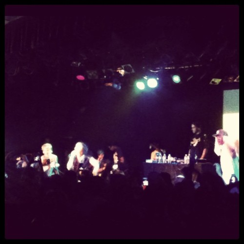 Kreayshawn & lil Debbie! #soldout #swag (Taken with Instagram at The Roxy)