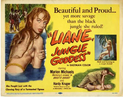 Liane The Jungle Goddess (1956)