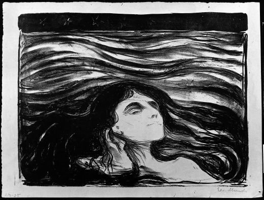Waves of Love (1896) by Edvard Munch