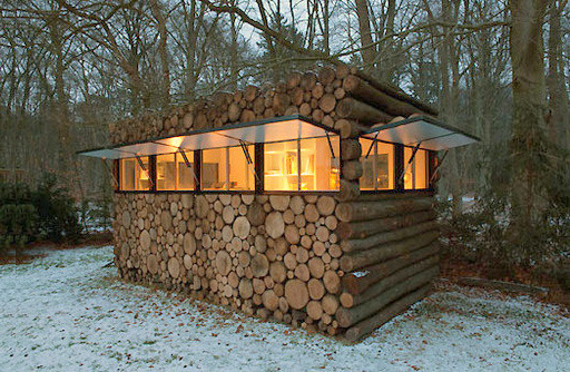 tthornbirdd:  Log Cabin in Hilversum, the Netherlands.