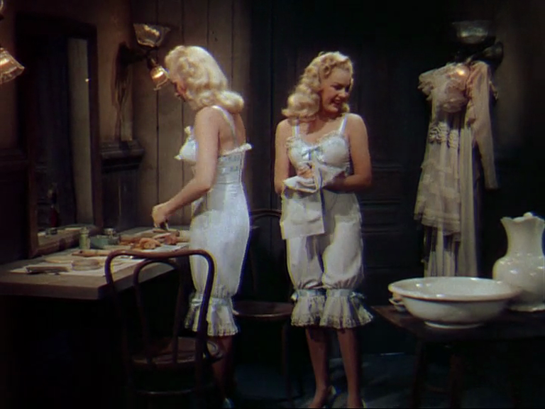 The Dolly Sisters (1945) Betty Grable and June Haver