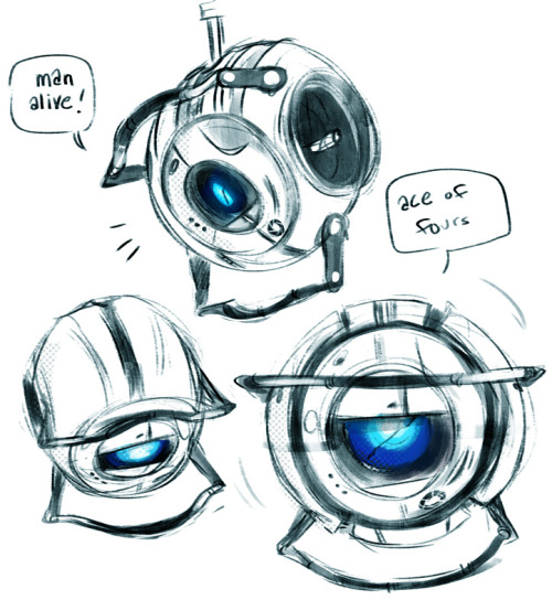 baysalt:  I love human Wheatley and all but core Wheatley is totally my favorite /swoon