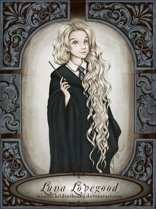 forwardish:  Luna Lovegood by *moonchildinthesky