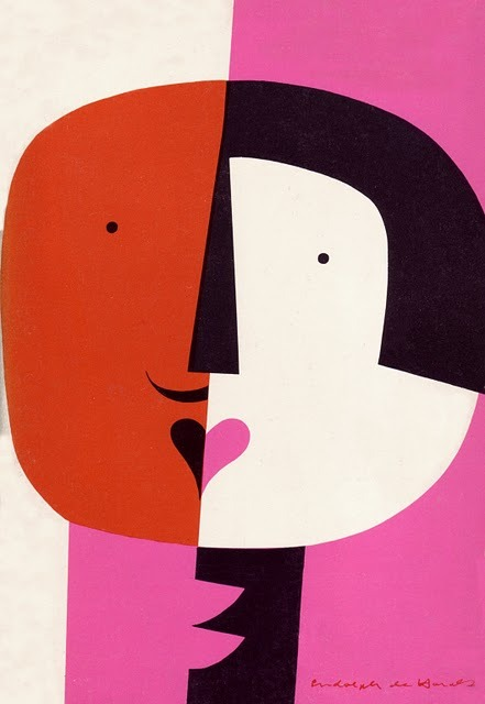 iconoclassic:  Rudolph deHarak, Cards of Identity, 1960. via 50 Watts (via MID-CENTURIA : Art, Design and Decor from the Mid-Century and beyond: Book Cover Art)