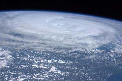 scipsy:  Hurricane Irene From the ISS