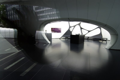 "archi-tecture:  ""Zaha Hadid, une architecture"" exhibition at l'Institut du Monde Arabe, Paris, from 29 avril 2011 to 30 octobre 2011"