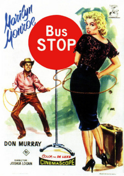 "retrogoddess:  Marilyn Monroe ""Bus Stop"""