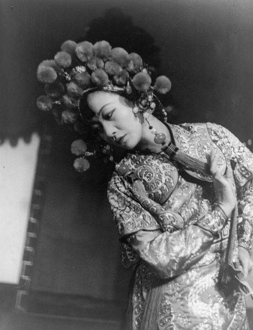 Anna May Wong as Princess Turandot in 1937 Photographed by Carl Van Vechten Image Source