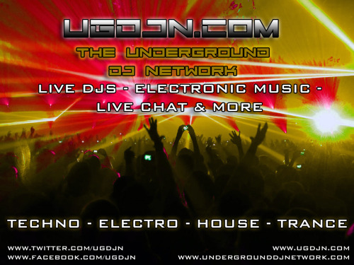 Live DJ's from around the globe! 100% electronic music!! Live chat room, and guest cams!