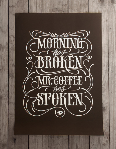 edgina:  Morning has broken | Coffee made me do it