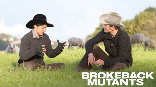 ludwigbodmer:  MY LIFE IS NOW COMPLETE! Brokeback Mutants are сanon!