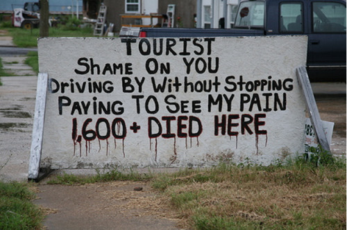 (via Disaster Tourism » Sociological Images)