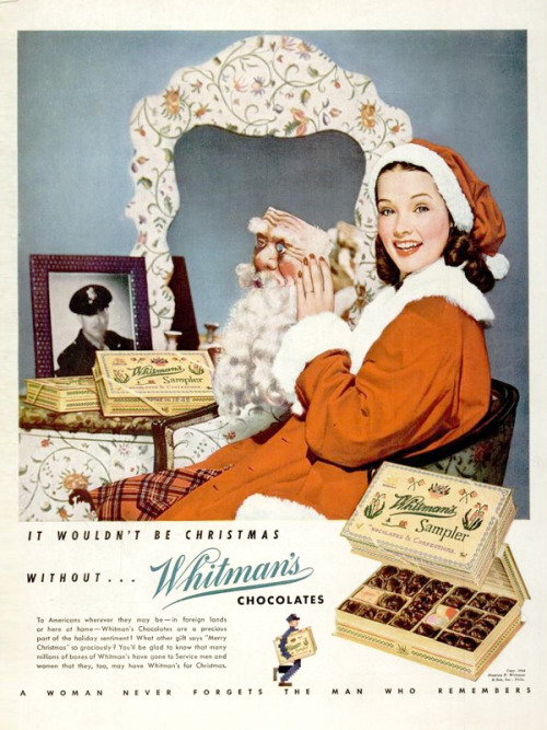 Whitman's Chocolate, 1944