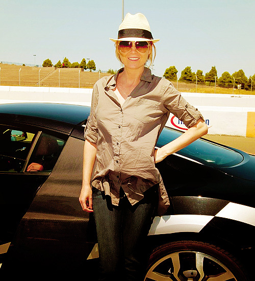 "60 days of Ellen Pompeo (candids/appearances) (★) 51# at ""Learn to Ride"" event at Infineon Raceway - May 20, 2010"