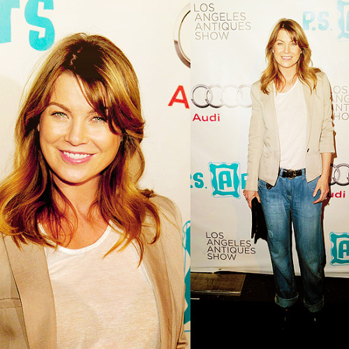 60 days of Ellen Pompeo (candids/appearances) (★) 52# at ARTS Opening Night Party For The LA Antiques Show -  2011