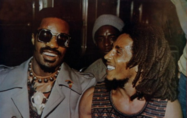 Stevie Wonder & Bob Marley