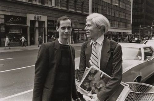 Andy Warhol and John Waters  (2 great tastes…)