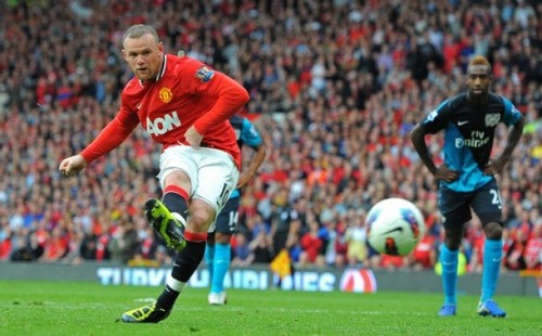 iloveunited:  Premier League 2011/12: Manchester United 8 - Arsenal 2