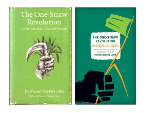 Recommended Reading: The One Straw Revolution by Masanobu Fukuoka, advocating natural farming methods.  Originally written in 1975 and translated in 1978.  This book has expanded the way that I understand organic farming and natural food.  It is a book on philosophy and how one engages with the world at large almost moreso than it is a book on natural food practices. — TC