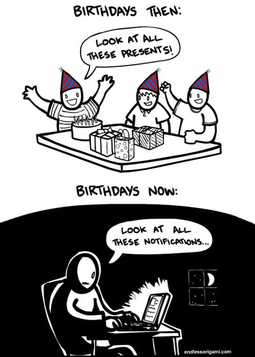 toptumbles:  Birthdays then and now