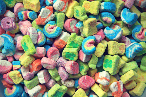 LOVE: Lucky Charms!