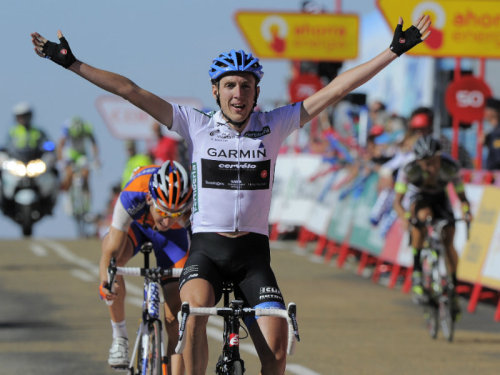 Vuelta a Espana 2011 | Stage 9 A treat of a stage today! Dan Martin takes the honours on what was a compelling day of racing among the GC contenders.  (via Team Sky | Pro Cycling | Photo Gallery | Vuelta stage nine gallery)