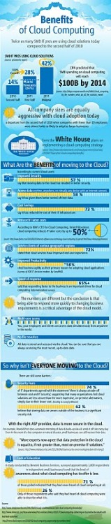 fernandomontans:  Beneficios del Cloud Computing – Infografía