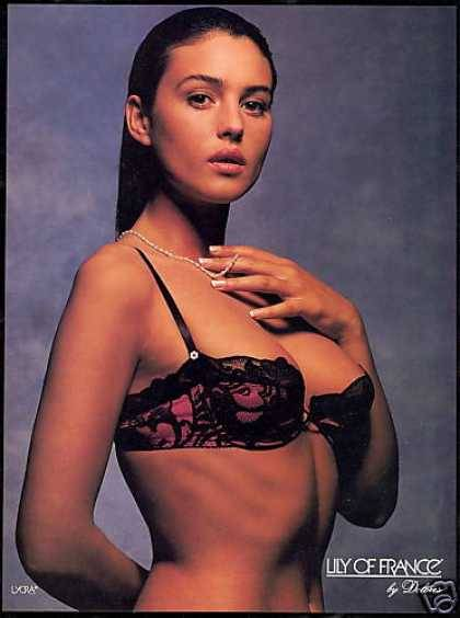 Monica Bellucci - Lily of France ad
