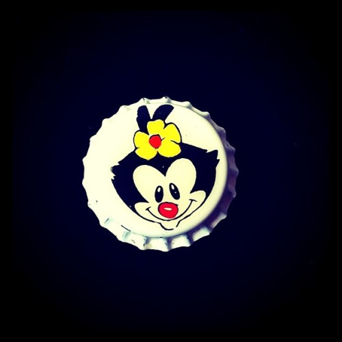 """Llamame Dotie y morirás."" - Dot Warner #iphoneography #cartoon #Animaniacs #corcholata #retro (Taken with instagram)"