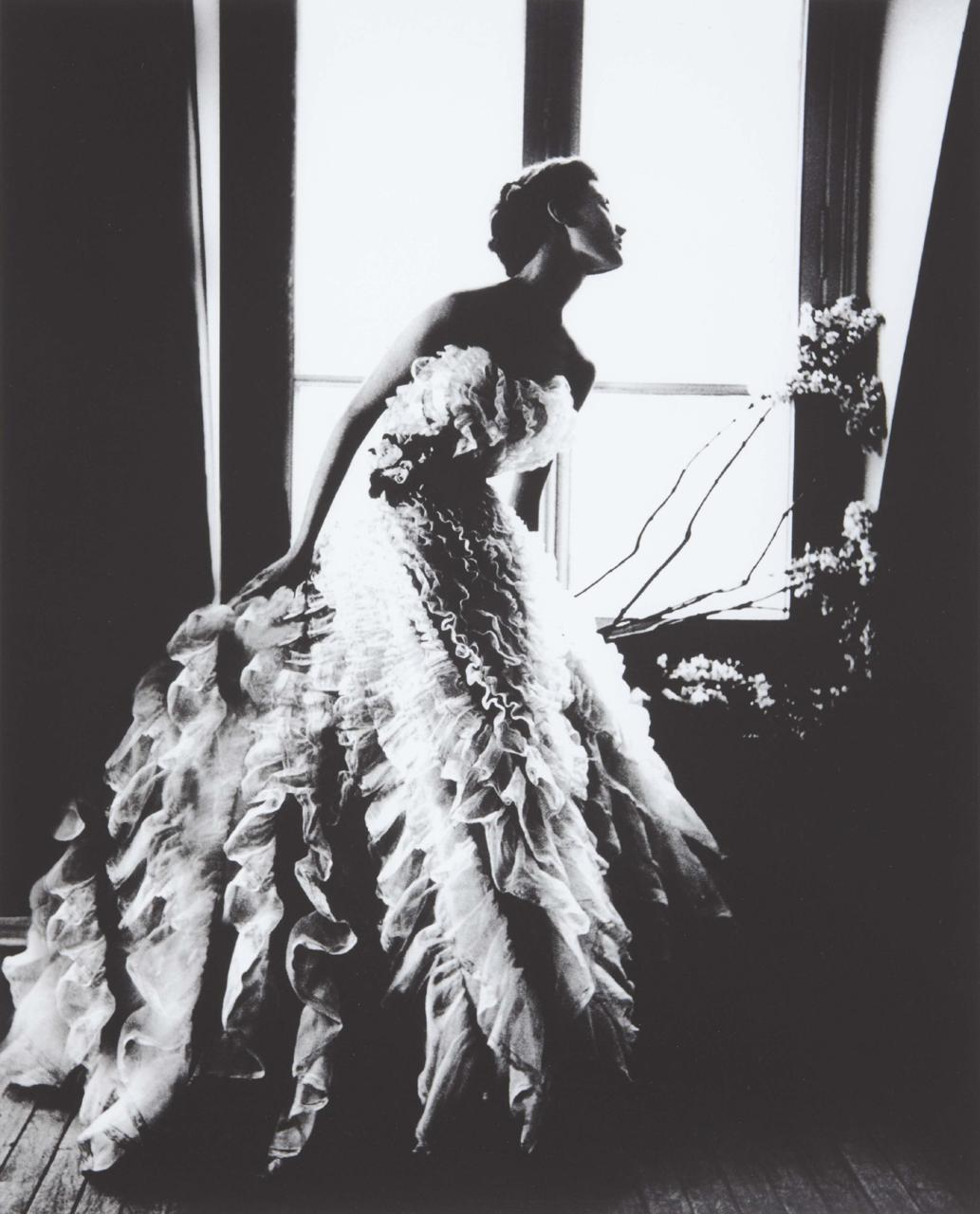 Fantasy on the Dancefloor (1949). Lillian Bassman. (via)