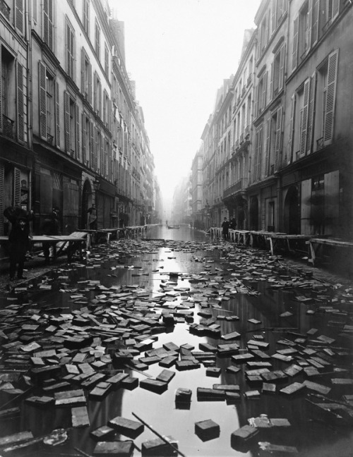 backspaceforward:  Paris after the Great Flood of 1910.