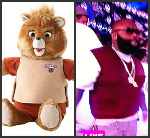 Rick Ross as Teddy Ruxpin at the 2011 MTV VMA's!