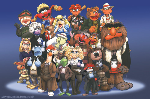 Muppets AND Doctor Who… YES!