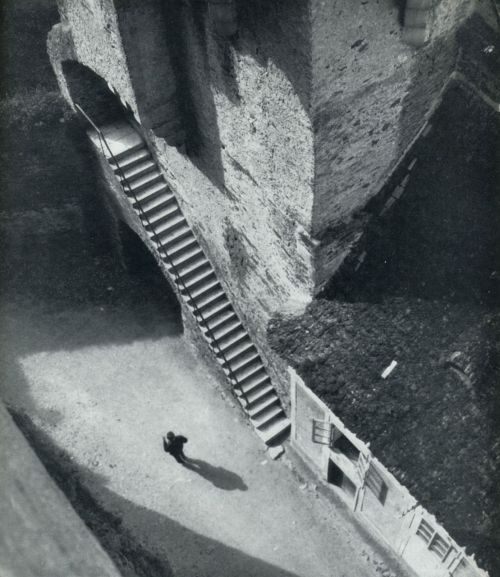 Jan Lauschmann Castle Stairs, 1927 From Tschechoslowakische Fotografien 1900-1940 liquidnight