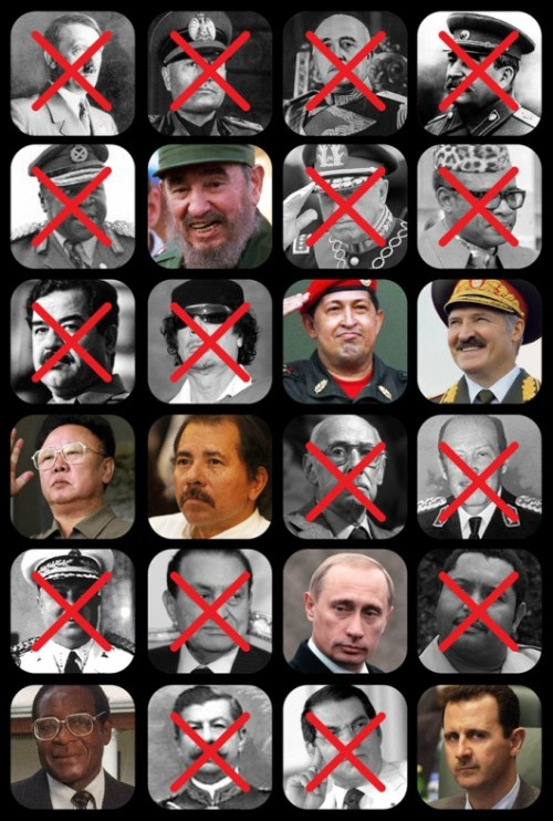 Dictators List