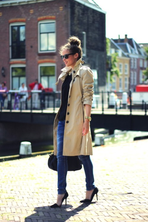 I can't say it enough…Get a trench for Fall!