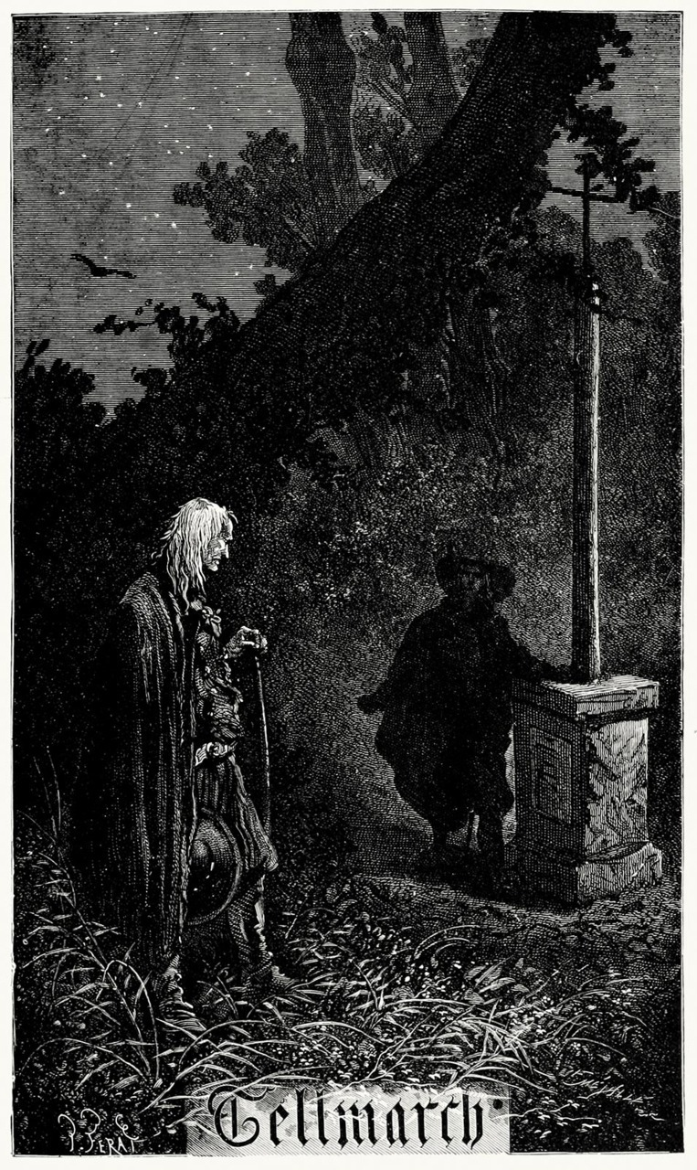 oldbookillustrations:  Tellmarch. Jules Férat, from Ninety-three vol. 1, by Victor Hugo, London, New York, 1889. (Source: archive.org)