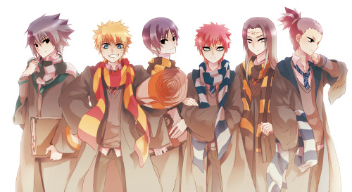 fuckyeahnarutoboys:  opium-eyed:  Naruto in Hogwarts!  all of it true.  True beyond belief.