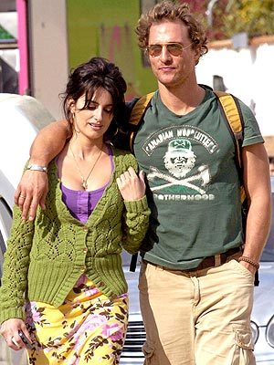 Penelope Cruz and Matthew McConaughey. (photographer unknown)