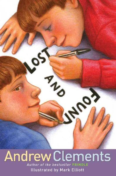 "9. Lost and Found, by Andrew Clements Easy read! Couldn't sleep so read this from about 2 to 2:30 a.m. last night/this morning. It caught my eye in the library when I was looking for books for the kid I tutor — ""The Landry News"" was one of my favorites in elementary school! Come to think of it, it was a huge factor in my obsession with having a school newspaper in middle school (we had one absolutely fabulous issue in seventh grade! Comic Sans type and everything!) (But really it was amazing I still have it saved somewhere, three sheets legal paper sized, stapled in the corner, and a masthead!) — which then led me to apply to journalism in high school.  And I thank the literary gods for that. —- EDIT: Looked up ""The Landry News"" on Wikipedia to check a plot point and turns out one of the stories written by a character in TLN is titled ""Lost and Found"" and is also about discovering yourself, although in a less literal way than LAF's! Also to get a bit review-y on LAF: A bit more cutesy and… more cheesy?… than Clements' other books, but still fun :)"