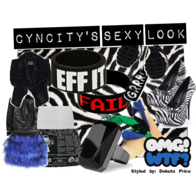 cyncity second look by dpricestyling featuring rubber bracelets